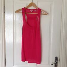 LADIES 'TEDBAKER' PINK VEST TOP. SIZE 8/ TEDBAKER SIZE 1. GOOD CONDITION.