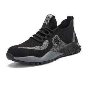 Men's Work Safety Shoes Steel Toe Bulletproof Boots Indestructible Sneakers 8-13