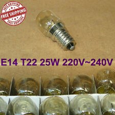 10Pcs E14 25W 220V~240V Oven Bulb Oven Lamp Heat Resistant Bulb Light 300'C S8