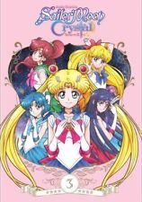 Sailor Moon Crystal: Set 3 (DVD,2017)