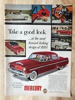 Original Magazine  Print Ad 1953 MERCURY Take a Good Look