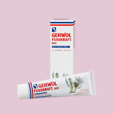 Gehwol Fusskraft Pieds Crèmes - Rouge, Bleu Et Vert - Podologie Crèmes