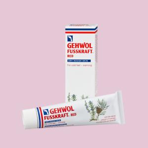 Gehwol Fusskraft Foot Creams - Red, Blue and Green - Chiropody Podiatry Creams