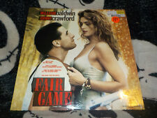 Fair Game Widescreen Laserdisc LD Factory Shrink Cindy Crawford Free Ship $30