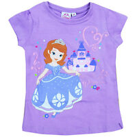 OFFICIAL DISNEY Character T-Shirt / Top Minnie / Princess / Frozen 1-8 Years