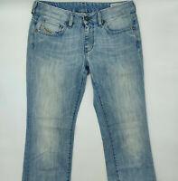 Diesel Ronhary Wash 008SZ W28 L32 blau Designer Denim Damen Vintage Jeans Hose
