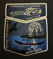 NISQUALLY OA LODGE 155 PACIFIC HARBORS COUNCIL NOAC 2018 SMY DELEGATE 2-PATCH