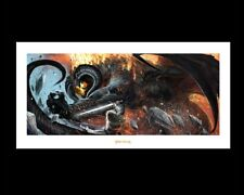 The Battle At The Peak Art Print Poster Weta Lord of the Rings / Hobbit Lotr