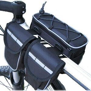 Cycling handlebar bag bike bag accessories bycicle bisiklet aksesuar 4 in 1