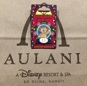 Disney Aulani Limited Edition Duffy Christmas Pin (2020)–Brand New Retail $17.99