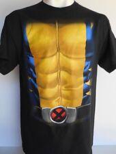 Marvel Wolverine Uniform-Costume Men's T-Shirt Size Large