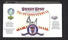 2001 Upper Deck Sweet Spot Baseball Sealed Hobby Box