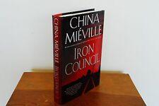 Iron Council by China Miéville (2004 Hardcover DJ 1st/1st Clarke/Locus Award)