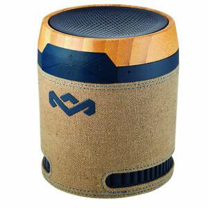 House of Marley Navy Chant BT Handsfree Portable Wireless Speaker MIC Bluetooth