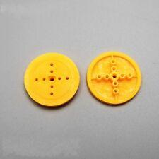 10pcs 36mm Pulley Wheel Model Car Wheel Eccentric Wheel for DIY Toy Accessories