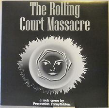 PROCOSMIAN FANNYFIDDLERS The Rolling Court Massacre LP Norway Prog w/ Booklet
