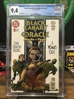 Black Canary/Oracle Birds of Prey 1 Cgc 9.4