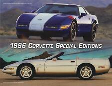 1996 Chevrolet Corvette C4 Special Editions Brochure - Grand Sport / Collector
