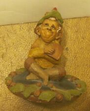 """Tom Clark """"Ace Of Spades"""" Gnome Figurine #6 Excellent Condition!"""