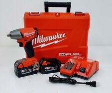 "Milwaukee 2755-22 M18 FUEL 1/2"" Impact Wrench Kit w/Pin Detent"