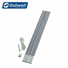 Outwell Unisex Duratec Do It Yourself Kit Pole Silver One Size