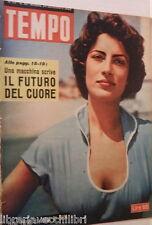 TEMPO 24 settembre 1953 Irene Papas Pella Neville Duke Morte di Ettore Muti di