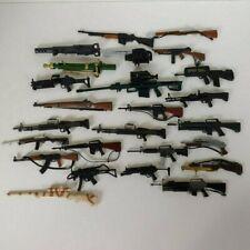 "GJ46 20 LARGER GUNS Vintage Hasbro GI Joe 12/"" Figure Accessories"