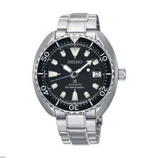 Seiko SRPC35 Mini Turtle Black Dial Diver's Watch UK