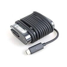 Genuine Dell LA45NM150 0HDCY5 HDCY5 45W USB-C Charger For Dell Latitude 13 7370