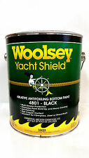 Woolsey Yacht Shield Boat BLACK Ablative Antifouling Bottom Paint GALLON  4801G