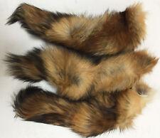Professionally Tanned Red Fox Tails (Grade RFX-TL1) - Hide/Fur - Minnesota Brand