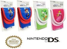 4 PIECES Nintendo DSL,DSI,3DS SLEEVE CASES (SUPER MARIO,PEACH,YOSHI)
