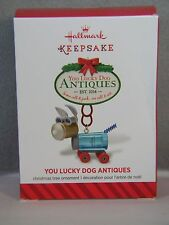YOU LUCKY DOG ANTIQUES - STORE SIGN - 2014 - HALLMARK KEEPSAKE ORNAMENT