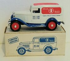 1992 Replica New in box 1932 Ford Delivery Van Isky Cams Ertl Bank.