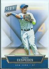 2016 Panini National Convention Yoenis Cespedes Silver Pack Base Card
