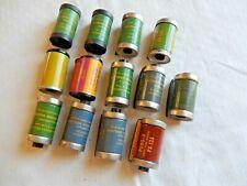 14 Empty Vintage 35mm Film Canisters, Cassettes, Cartridges Kodak Panchromatic