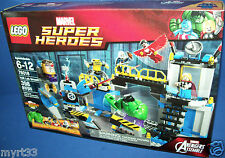 LEGO 76018 HULK LAB SMASH Avengers Assemble RETIRED Marvel Super Heroes NISB