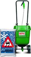 25 kg Glatteisbremse alternatives Streusalz +Substral Schleuderstreuer EasyGreen