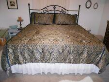 American Century Home Comforter Set Bed Skirt 2 King Shams 2 Matching Pillows