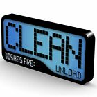 Flip Magnets Reversible Double Sided Clean Dirty Dishwasher Magnet - Super St... photo