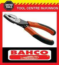 BAHCO ERGO 180mm COMBINATION PLIERS WITH CUTTER – MADE IN SPAIN