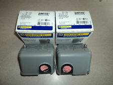Brand New SQUARE D water well pump pressure switch 30/50 SquareD FSG2 Lot of 2
