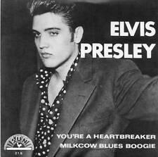 ELVIS PRESLEY - YOU'RE A HEARTBREAKER - NEW SUN LABEL REPRO IN PICTURE COVER