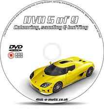 Car Paint Colouring Sanding Buffing Auto Training DVD