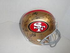 2012 SAN FRANCISCO 49ERS TEAM SIGNED F/S HELMET COLIN KAEPERNICK FRANK GORE
