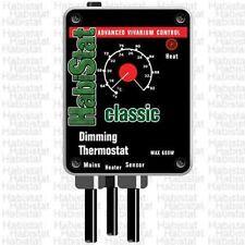 Habistat Dimming stat Reptile Vivarium Thermostat BLACK
