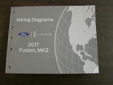 OEM Ford 2017 Fusion Lincoln MKZ Shop Manual Wiring Diagram Book nos