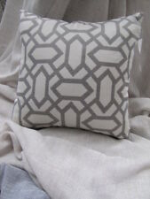 Modern Zaab Homewares Crombie Silver Cushion Cover 45cm x 45 cm  SALE