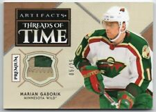 2018-19 Artifacts Threads of Time Premium MG Marian Gaborik 2 Clrs GU Patch /25