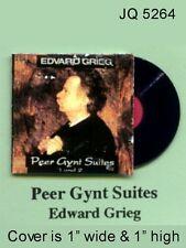 Peter Gynt Suites Album Dollhouse Miniature 1:12 Scale